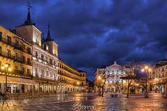 Noche en Segovia. (angelrm) Tags: segovia pwmelilla