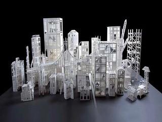Origami Exibition in Paris: Architectures de Papier