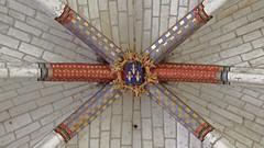 DSCF4580 Église St-Martin, Nouans-les-Fontaines  (Indre-et-Loire) (Thomas The Baguette) Tags: nouanslesfontaines indreetloire nouans jeanfouquet pieta painting eglise saintmartin
