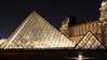 Louvre Museum (click100) Tags: paris canon7d 24105mm louvre museum musee night trail light red