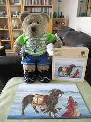 Bargin bye! (pefkosmad) Tags: jigsaw puzzle hobby leisure pastime secondhand sealed complete whimsies figurals tedricstudmuffin teddy ted bear animal toy cute cuddly plush fluffy soft stuffed wentworth wooden wood