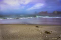 Orange Beach Morning Fog. (vovopics) Tags: beach orange fog gulfofmexico water alabama