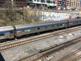 """VIA Rail """"The Canadian"""" late departure May 9/2018"""