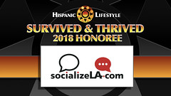 Survived and Thrived Honoree SocializeLA.com