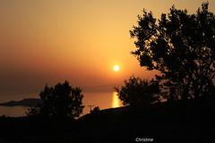 sunset (christinehag) Tags: sunset coucher du soleil ηλιοβασίλεμα θάλασσα mer sea