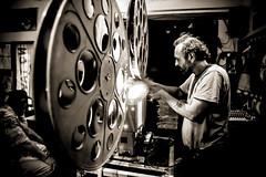 A Clockwork Orange 35mm-011 (Brother's Art) Tags: arte concerti circoloarci evento monocromo tecnologia arci proiettore35mm seppia