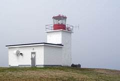 DSC00292 - Grand Passage Lighthouse (archer10 (Dennis) 137M Views) Tags: sony a6300 ilce6300 18200mm 1650mm mirrorless free freepicture archer10 dennis jarvis dennisgjarvis dennisjarvis iamcanadian novascotia canada lighthouse grandpassagelighthouse fog grandpassage