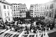 Piazza di Spagna, Rome (Fliwatuet) Tags: em5 italia italien italy mft olympusomd ostern rom roma rome lazio it