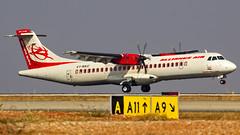 Alliance Air (Air India Regional) Aerospatiale ATR72 VT-RKC Bangalore (BLR/VOBL) (Aiel) Tags: allianceair airindia airindiaregional aerospatiale atr atr72 vtrkc bangalore bengaluru canon60d tamron70300vc