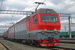2ES6-164 (zauralec) Tags: синара ржд локомотив электровоз 2es6 2эс6 sinara rzd transport train поезд станция station utyak утяк курган 2es6164 164 2эс6164