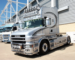 Haughey Haulage Scania T580 T580HH Peterborough Truckfest 2018 (davidseall) Tags: haughey haulage scania vabis t580 t cab v8 t580hh hh truck lorry tractor unit series artic large heavy goods vehicle lgv hgv peterborough truckfest may 2018