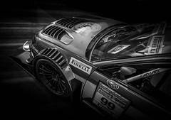 BEAST (Dave GRR) Tags: subaru toronto auto show olympus monochrome chrome mono sti wrx beast