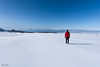 Looking at the infinity (Frédéric Pactat) Tags: d 750 20 mm f 18 f18 nikon d750 afs ed nikkor fx 20mm f18g mountain montagne snow etna infinite view pure minimal landscape paysage white red jacket arcteryx sicily sicilia sicile italie