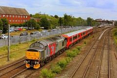 A long lived Machine (Chris Baines) Tags: europhenix 37800 bedford down slow working stewarts lane derby litchurch emu stock move