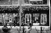 CABaN (✱HAL) Tags: om1 ilford xp2super400 film tokyo marunouchi nakadori caban opencafe