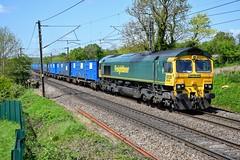 66549 6H35 Cliff Lane, Acton Bridge (cmc_1987) Tags: 66549 freightliner geneseewyoming class66 6h35 runcornfollylane northenden weaver clifflane actonbridge br britishrail jt42cwr britishrailclass66