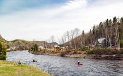 Un Saguenay, mais le Petit - Rivière Petit-Saguenay (BLEUnord) Tags: canot canoe kayak rivière river crue printemps spring petitsaguenay