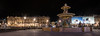 Place de la Concorde - Eglise de la Madeleine - Paris (valecomte20) Tags: place de la concorde eglise madeleine paris fontaine sunset water street sky city night cityscape nikon d5500