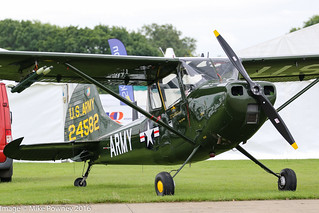 G-VDOG - 1958 build Cessna 305C (L-19E) Bird Dog, at Sywell during Aero Expo 2016