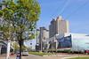 IMG_4050 (Ethene Lin) Tags: neworleans hiltonneworleansriverside centralbusinessdistrict 藍天 大樹 大樓