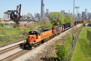 BLE 878 in Chicago, Illinois on May 16, 2018.