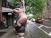 2018 Giant Strike Cigar Pig Balloon 2276 (Brechtbug) Tags: 2018 giant strike cigar pig balloon corner 9th ave 43rd st near times square new york city 05172018 nyc teeth claws rodent mouse fangs inflatable created 1990 by big sky balloons scab scabby rat manufactured chicago illinois blow up blowup midtown manhattan rainy may rats pigs top hat smoking cigars