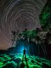 Star man (Stephen Elliott Photography) Tags: peakdistrict derbyshire hopevalley night star trails long exposure light painting olympus live composite em1 714mm