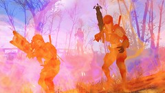 Fallout4 - Molotov cocktail pastels (tend2it) Tags: fallout4 fallout 4 rpg game pc ps4 xbox screenshot screenarchery reshade postprocessing injector eraser enb sweetfx nuclear apocalyptic future piper plasrail cross plasma gun rifle molotov cocktail pastels explosion color purple red pink fire flash