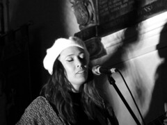 Lauren Barth St Pancras Old Church London May 2018 (www.kevinoakhill.com) Tags: carter sampson st pancras old church london may 2018 hannah rose platt jessie jesse aycock acock lauren barth chapel amazing beautiful wonderful fantastic brilliant music live gig show concert time out londonist guitar acoustic country americana harmony harmonies male female man woman cowboy hat cowgirl queen oklahoma ok photo photos photography canon ixus 285 pocket camera