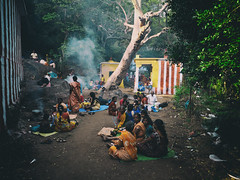 Shenbaga Devis (Prabhu B Doss) Tags: prabhubdoss travelphotography tamilnadu courtalam shenbaga devi temple tenkasi festival ritual forest