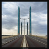 Pont Jacques Chaban-Delmas (Ilan Shacham) Tags: landscape cityscape abstract shape form symmetry bridge tower modern architecture fineart fineartphotography square bordeaux france