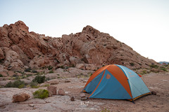 Morning, Day 2 (W9JIM) Tags: w9jim tent camping tentcamping marmot limelight3 marmotlimelight3 goldbutte nevada ef24105mmf4lisusm canoneos5dmarkiv 5d4 24105l 24mm explore