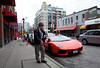 Lambo Look (Happily Drive) Tags: vancouver color colour street streetphoto streetphotography candid martin parr lambo lamborghini car ricoh grii