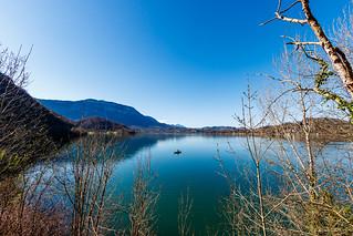 Le Solitaire * Lac Aiguebelette* Savoie (04/2018)