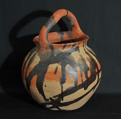 Pottery Jar Oaxaca Mexico Mixtec (Teyacapan) Tags: mexican pottery barro clay ceramica pots jars tonaltepec oaxaca mixtec