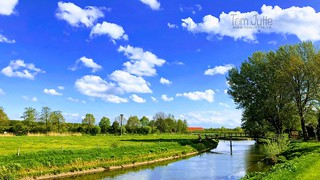 A beautiful Spring day along the Kromme Rijn, Odijk, Netherlands - 1016