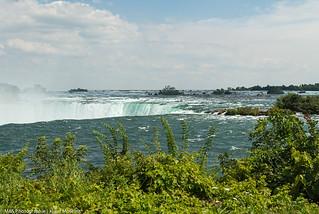 Ein etwas anderer Blick auf die Niagarafälle kanadischer Zufluss der Fälle - A slightly different view of Niagara Falls (Canadian inflow of falls)