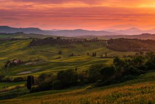 Hills around Monticchiello