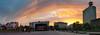 Sonnenuntergang Kesselbrink (BielePix) Tags: bielefeld germany deutschland nrw ostwestfalen hobbyfotograf amateurphotographer nikonp6000 nikon pointandshoot p6000 kompaktkamera hdr highdynamicrange panorama pano sky himmel wolken clouds sonne sun gebäude building haus architektur farbe colors colortoning photoshop composing digitalart postproduction bearbeitung edit lightroom filter nik collection alienskin photography art fotografie