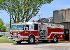 City Of Martinsburg FD Rescue Engine 4 (Seth Granville) Tags: martinsburg fire pierce saber rescue engine 4