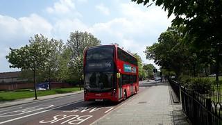 Transfer | Abellio London 2577 YX17NPP | 196 to Elephant & Castle