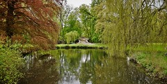 Promenade à Val-Dieu (Kimoufli) Tags: nature naturel vivelanature valdieu abbaye aubel belgium belgique nikon lightroom d5300 parc lieudeculte étang eau