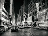 New York City in B&W (` Toshio ') Tags: toshio nyc newyorkcity manhattan taxi cab car street city timessquare midtown road bw blackandwhite iphone neon night traffic