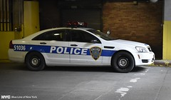 Port Authority Police Department Caprice (nyfrp) Tags: new york state police nypd nysp ford interceptor utility lightbar car sedan grand central parked city nyc manhattan midtown newyorkcity port authority caprice chevy tahoe ppv blue line ny times square explorer