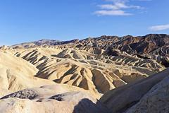 Death Valley - Zabriskie Pt Badlands - 2018 (tonopah06) Tags: deathvalleynationalpark deathvalley furnacecreek 2018 california ca desert zabriskiepoint zabriskiept badlands blackmountains furnacecreekwash contrast