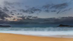 Sunrise Seascape with Clouds (Merrillie) Tags: daybreak landscape nature dawn waves waterscape water northpearlbeach sunrise newsouthwales clouds earlymorning nsw sky coast ocean pearlbeach sea rocky coastal rocks outdoors seascape morning centralcoast australia seaside