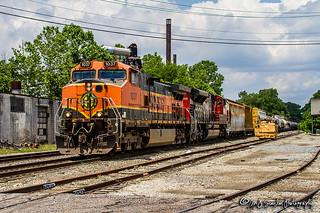 BNSF 1037 | GE C44-9W | CN Memphis Subdivision
