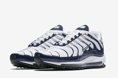Nike Air Max 97 Plus in White/Navy (eukicks.com) Tags: nike kicks air max 97 plus sportswear sneaker preview