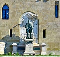 Major Jean Daniel Abraham Davel (Diegojack) Tags: lausanne vaud suisse d7200 art statue major davel bronze château saintmaire