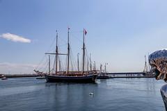 Historic ships @ Helsingør harbor (til213) Tags: denmark elsinore helsingør schiff segelschiff
